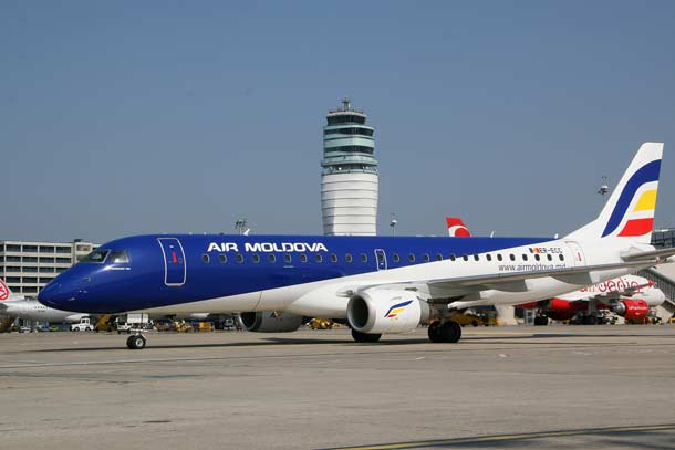 Air Moldova fliegt von Wien nach Chisinau