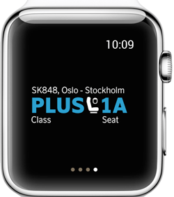 SAS-App für Apple Watch