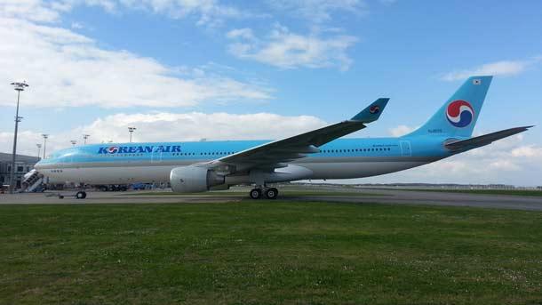 Asien, Korean Air, Airbus A330-300, umweltfreundlich,