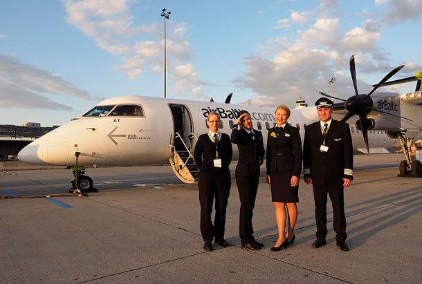 Mit Air Baltic von Wien nach Tallinn