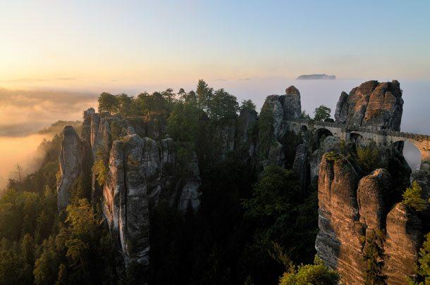 Elbsandsteingebirge: Wandern in der Sächsischen Schweiz, Deutschland