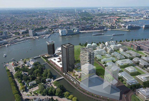 Maritim baut in Amsterdam einen Hotelturm