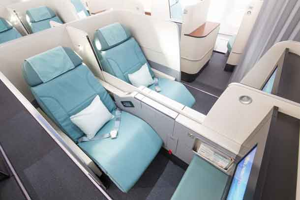 Korean Air: Prestige Suites