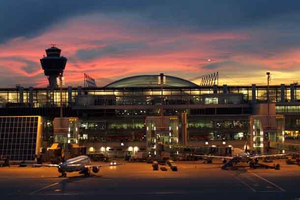 Flughafen München Flugzeugabfertigung