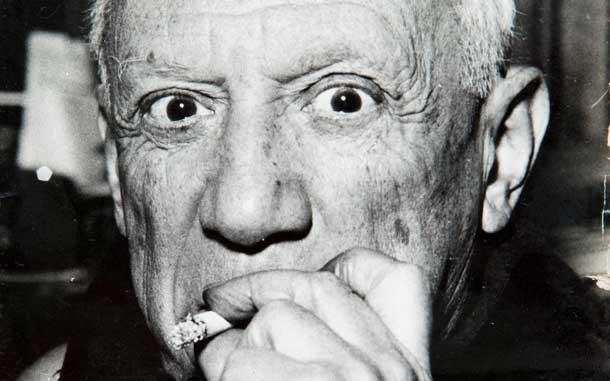 Pablo Picasso: Foto von Eddy Novarro