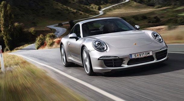 Spritztour durch München mit einem Porsche 911 Carrera