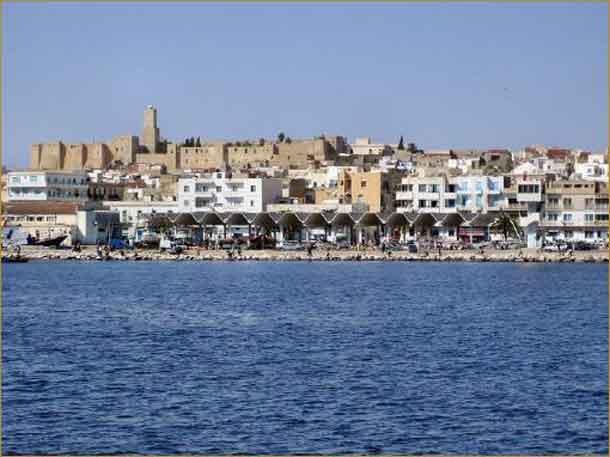 Tunesien: Die Mauern des Ribat von Sousse