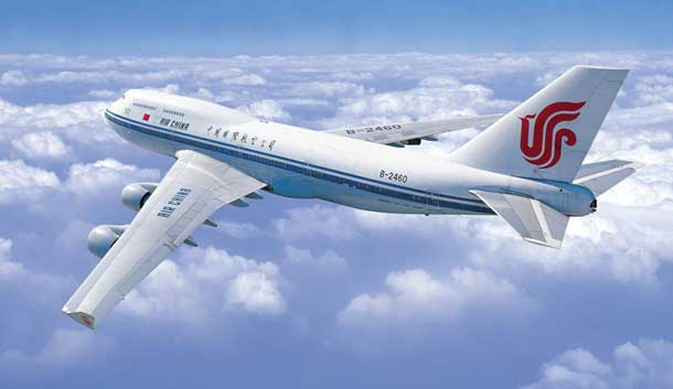 Air China: Nonstop von Peking nach Mumbai