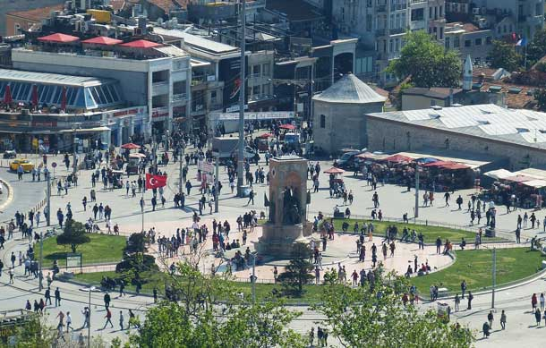 Taxim-Platz in Istanbul