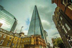Wolkenkratzer dominieren das Stadtbild der Millionenmetropole London