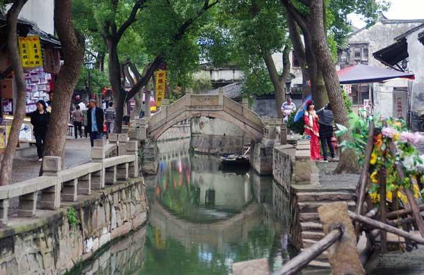 Die Gartenstadt Suzhou – wegen seiner vielen Kanäle auch Chinas Venedig genannt – will sich künftig noch mehr als Reiseziel für Kongresse und Tagungen profilieren (Foto: Pixabay)