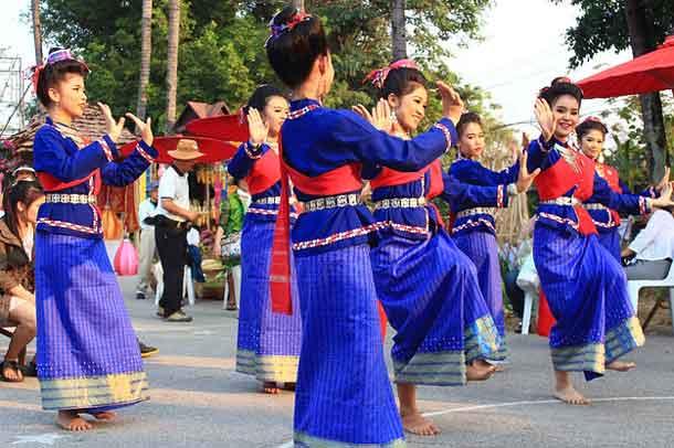 Thailand: Tänzerinnen