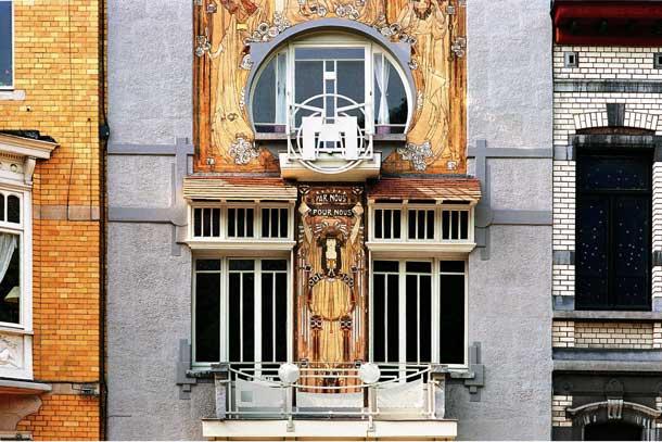 Eine Augenweide für Kunstfreunde ist das Cauchie Haus im Brüsseler Stadtteil Etterbeek (Foto: Visit Brussels)