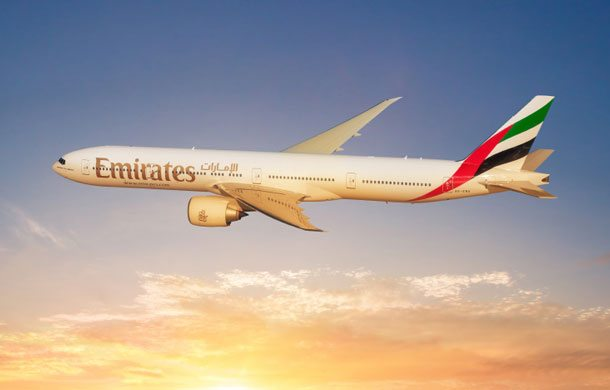 Mit einer Boeing B777-300 fliegt Emirates ab Juni von Zagreb nach Dubai