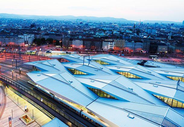 Der Wiener Hauptbahnhof ist ab 13. Dezember der Bahnknoten für Züge in alle Himmelsrichtungen (Foto: Philipp Hora, ÖBB)