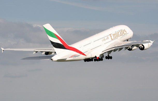Ab Mai 2016 setzt Emirates den Airbus A380 u.a. auch auf der Strecke nach Prag ein