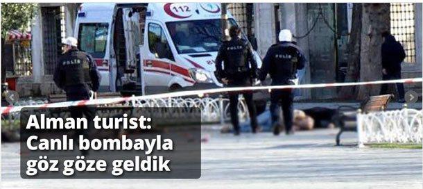 Bombenanschläge und Selbstmordattentate islamistischer Terroristen fügen dem Tourismus großen Schaden zu (Foto: Cumhuriyet)