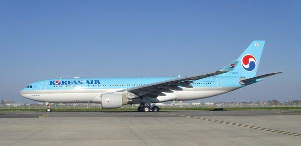 Korean Air und Jet Airways vereinbaren Codeshare-Flüge. Korean Air fliegt derzeit mit einem Airbus A330 drei Mal pro Woche von Incheon nach Mumbai