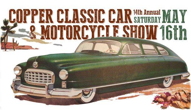 Diesen Termin sollten sich Oldtimer-Freunde vormerken: Die Copper Classic Car Show 2016 findet heuer am 16. Mai in Biste in Süd-Arizona statt