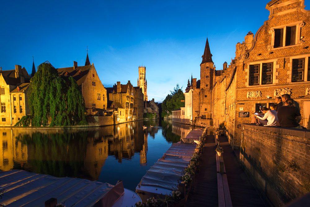 Brügge ist die größte Stadt der Provinz Westflandern