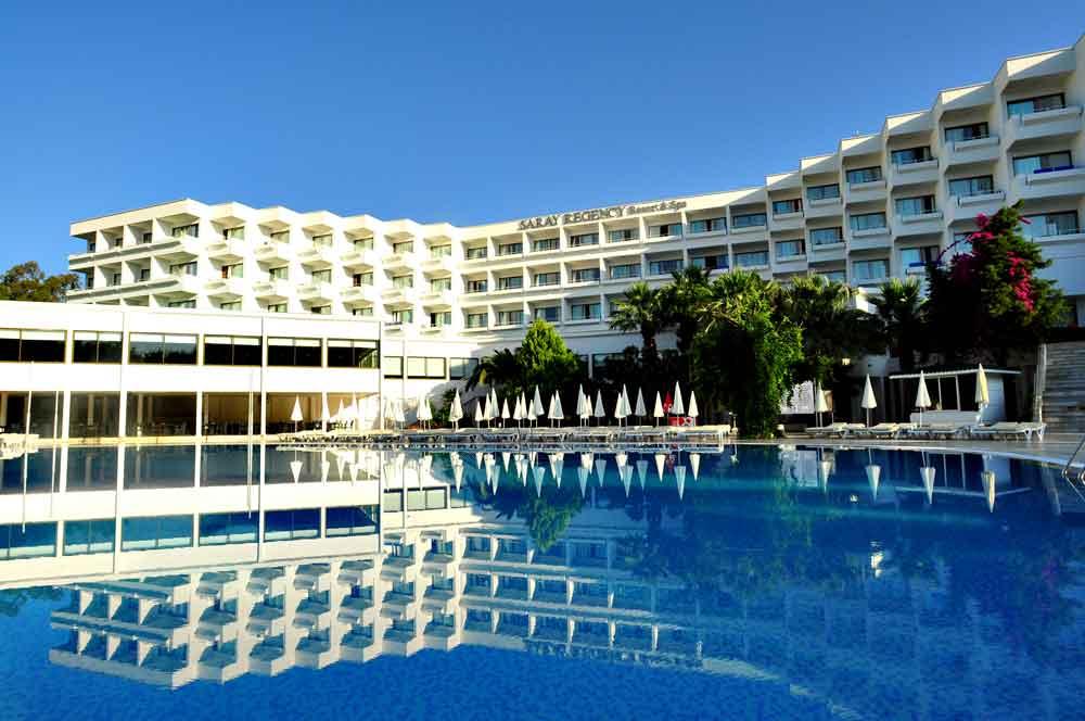 Nahe Side an der türkischen Riviera: Ab 1. April 2016 wird das 4-Sterne-Haus unter dem Markennamen Maritim geführt (Foto: Maritim Hotels)