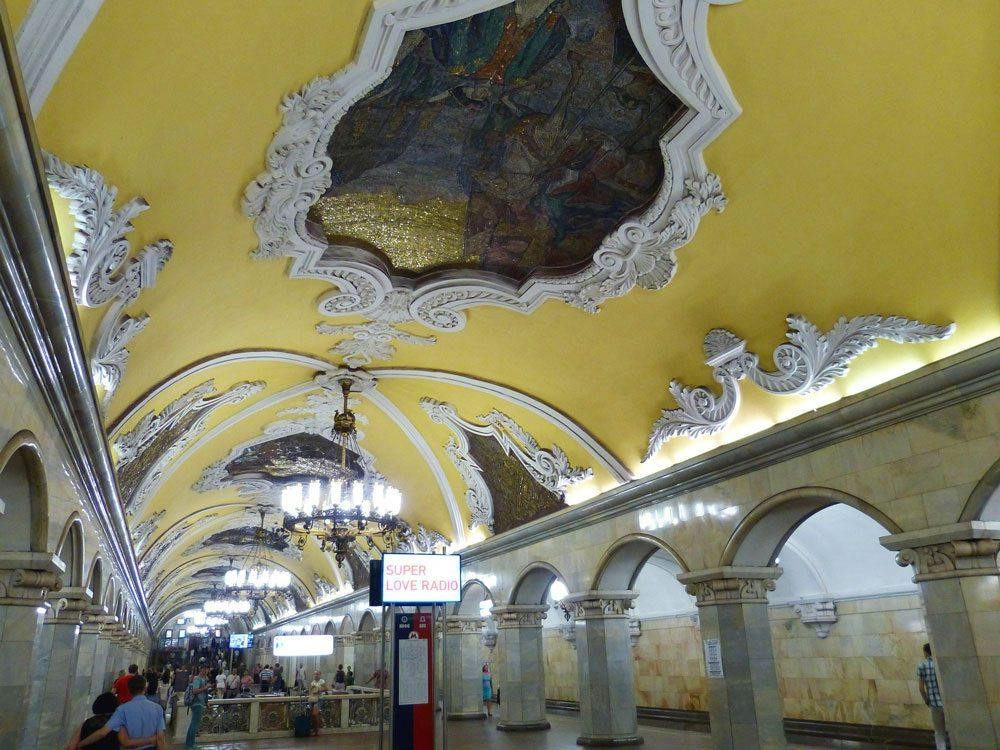 Moskau: Metrostation (Foto: Pixabay)