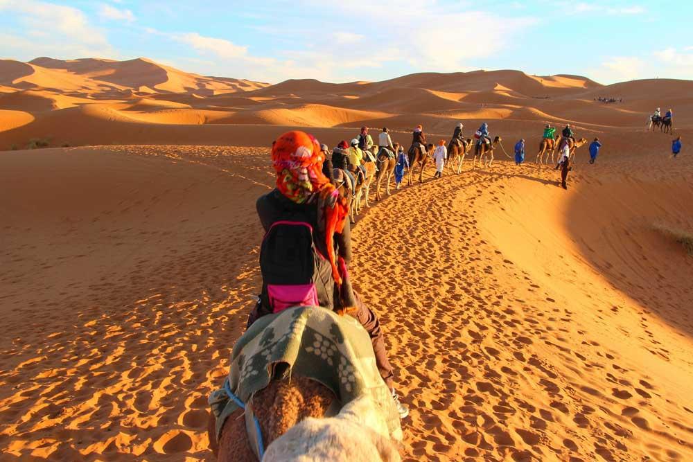 Marokko: Von Reisen in entlegene Gebiete der Sahara, insbesondere in den Grenzregionen mit Algerien und Mauretanien und jenseits befestigter Straßen, wird eindringlich abgeraten (Foto: Pixabay)