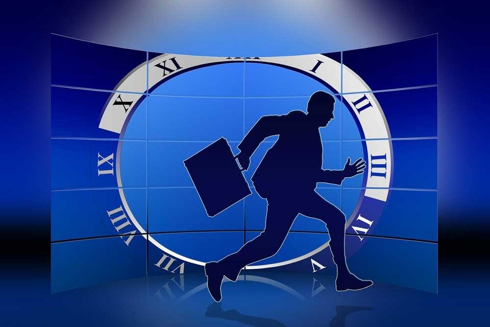 Stress auf Geschäftsreisen macht krank und verursacht Folgekosten (Foto: Gerd Altmann, Pixabay)