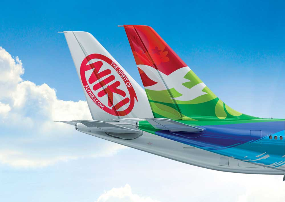 Zwölf wöchentliche NIKI Flüge zwischen Wien und Paris sind jetzt auch mit einer Air Seychelles Flugnummer buchbar