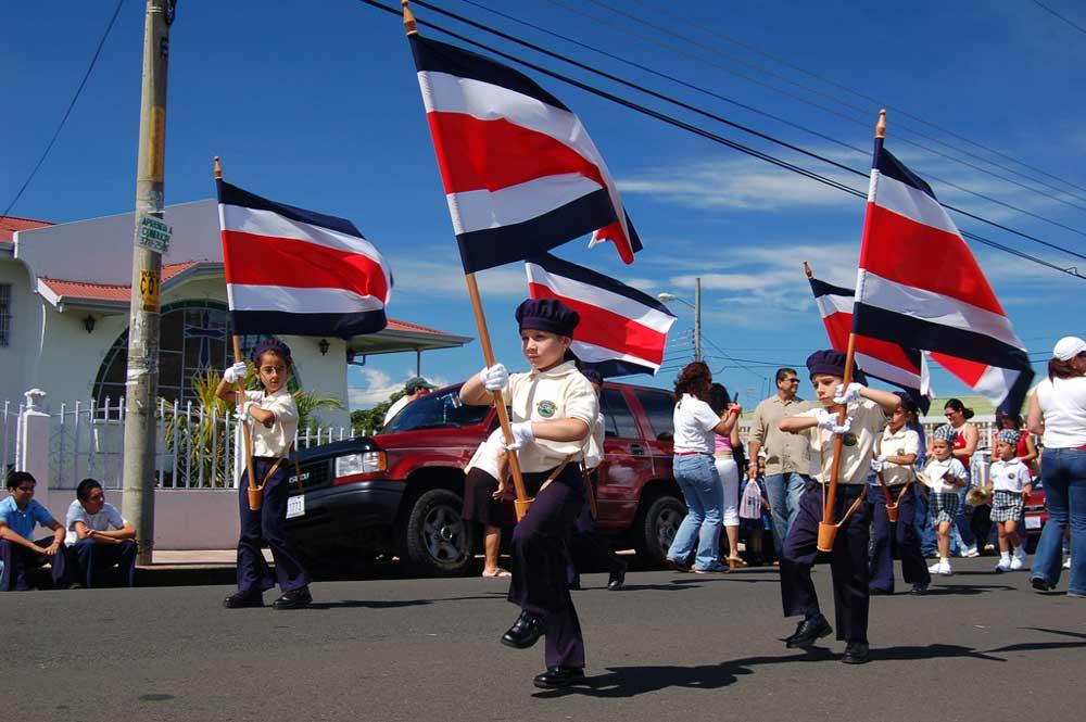 Costa Rica gilt als eines der fortschrittlichsten Lateinamerikas. Besonders stolz ist die Bevölkerung auf ihre Unabhängigkeit (Foto: Bruce Thomson)