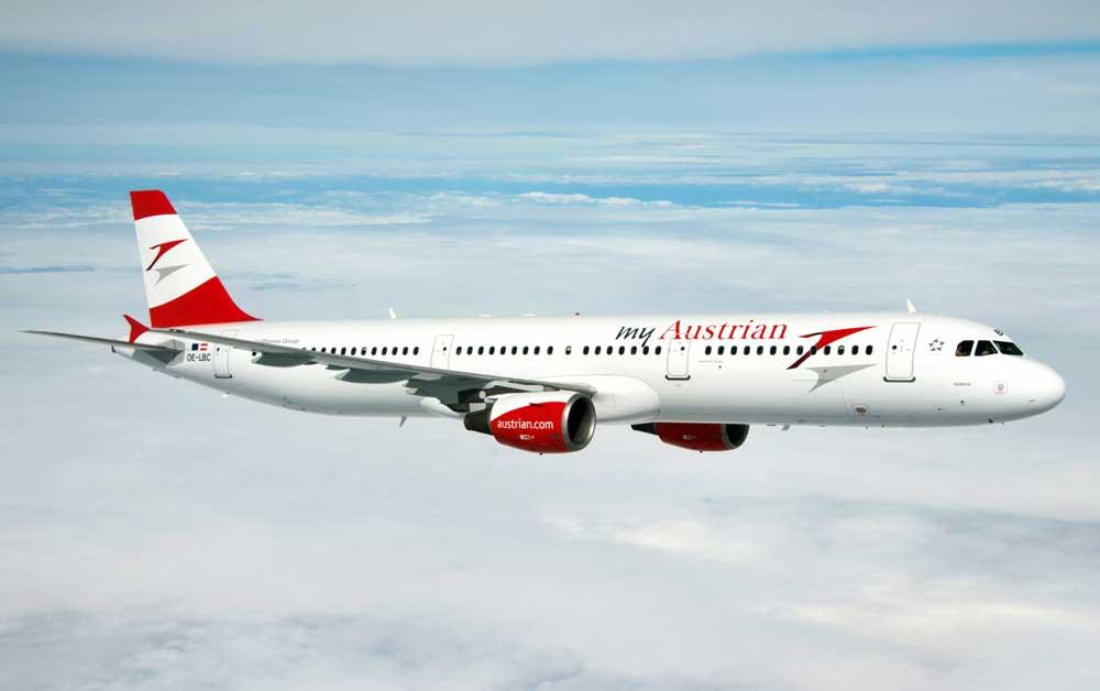 Mit dem Airbus A320 verstärken die Austrian Airlines ihr Flugangebot in den Iran (Foto: Austrian)