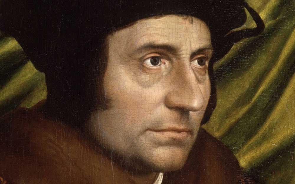Hans Holbein der Jüngere schuf 1527 das Porträt des Thomas Morus (Foto: National Gallery London, Tourismus Flandern Brüssel)