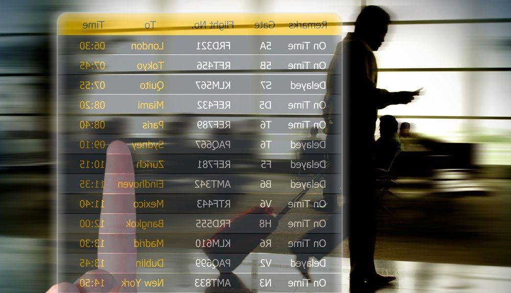 Wegen der Verspätungen und Annullierungen von Flügen mussten Reisende lange Wartezeiten in Kauf nahmen (Foto: SITA)