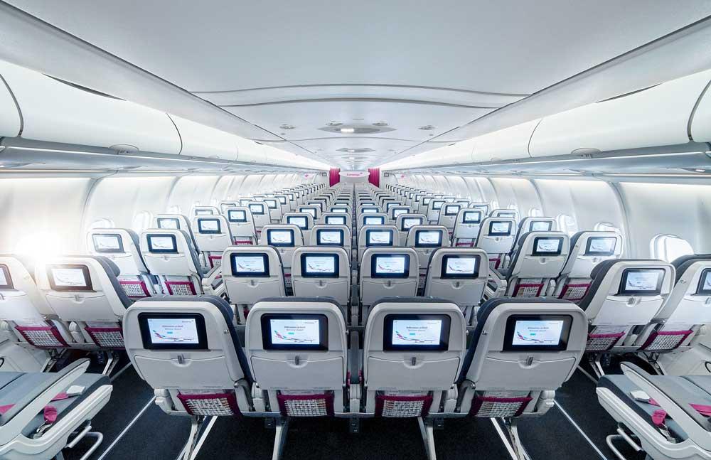 Die griechische Flugsicherung hat ihren Streik abgesagt: Eurwings-Flüge finden zu den ursprünglich geplanten Zeiten wieer statt (Foto: Eurowings)