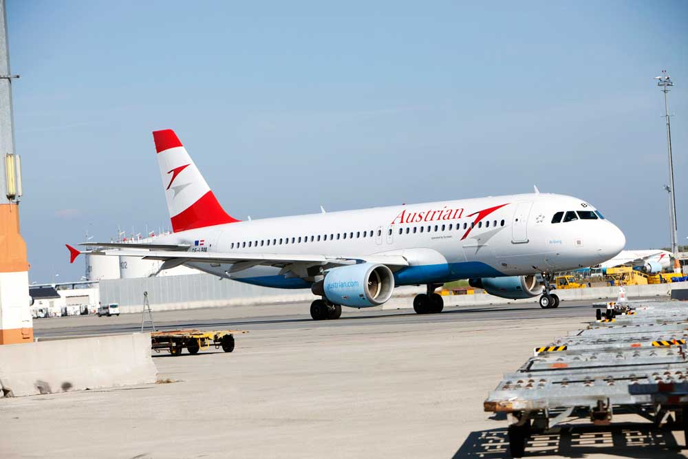 Austrian Airlines plant im Sommer 2017 mehr Flüge nach Hamburg, Paris, Mailand, Stockholm und Zürich. Kapazitätsaufstockung durch Wet-Lease von fünf Airbus A320 von Air Berlin