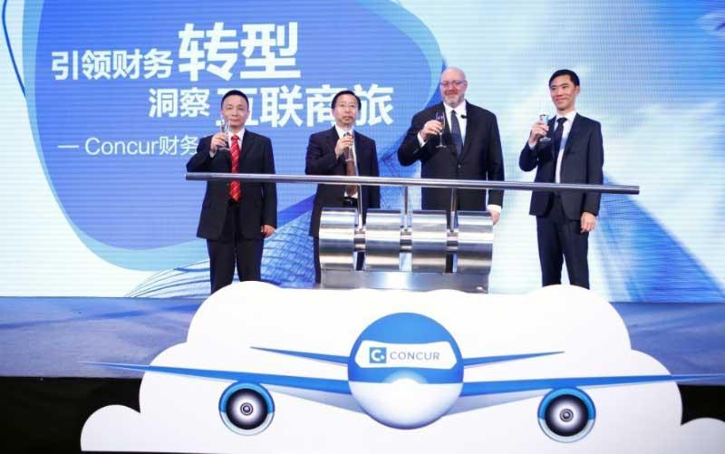 Concur President Mike Eberhard hat eine strategische Partnerschaft mit China DataCom geschlossen, um den Geschäftsreisemarkt in China zu dominieren (Foto: Concur)