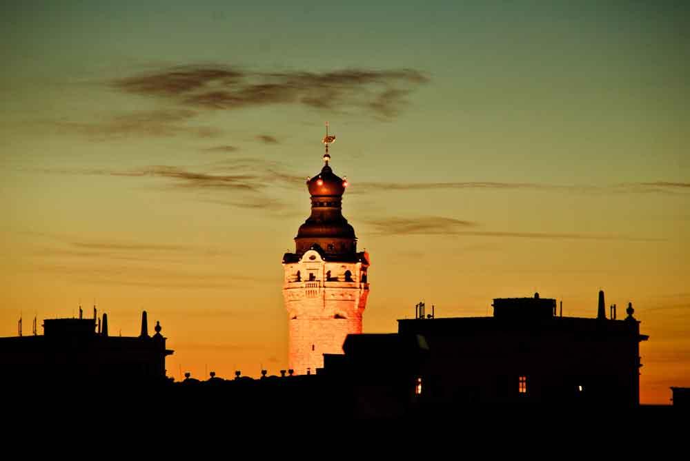 Das Leipziger Rathaus überragt die Altstadt und gehört zu den bedeutendsten Highlights (Foto: Elias Turyani, Pixabay)