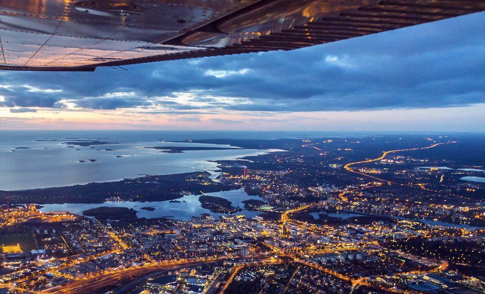 Oulu ist nicht nur die Technologiemetropole in Finnland sondern auch eine Metropole reich an Natur, Kultur und Events (Foto: Visitfinland.com)