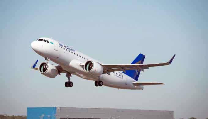 Wer mit Air Astana zur Weltausstellung Expo 2017 in Astana fliegt, erhält kostenlosen Eintritt (Foto: A. Domenjou)