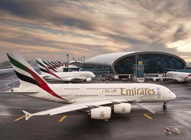 Airlines in Asien und Nahost stoppen ihre Flüge. Emirates und Etihad führen nur Frachtflüge durch (Foto: Emirates)