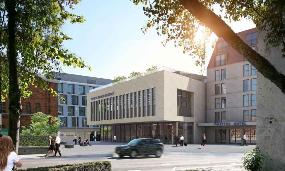 Das Maritim Hotel Ingolstadt wird 2020 eröffnet. Ingolstadt ist die Audi-Metropole in Deutschland