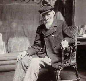 Pierre-Auguste Renoir (1841-1919) fotografiert um 1910 von Domac (Foto: Bibliothèque nationale de France, Gallica)