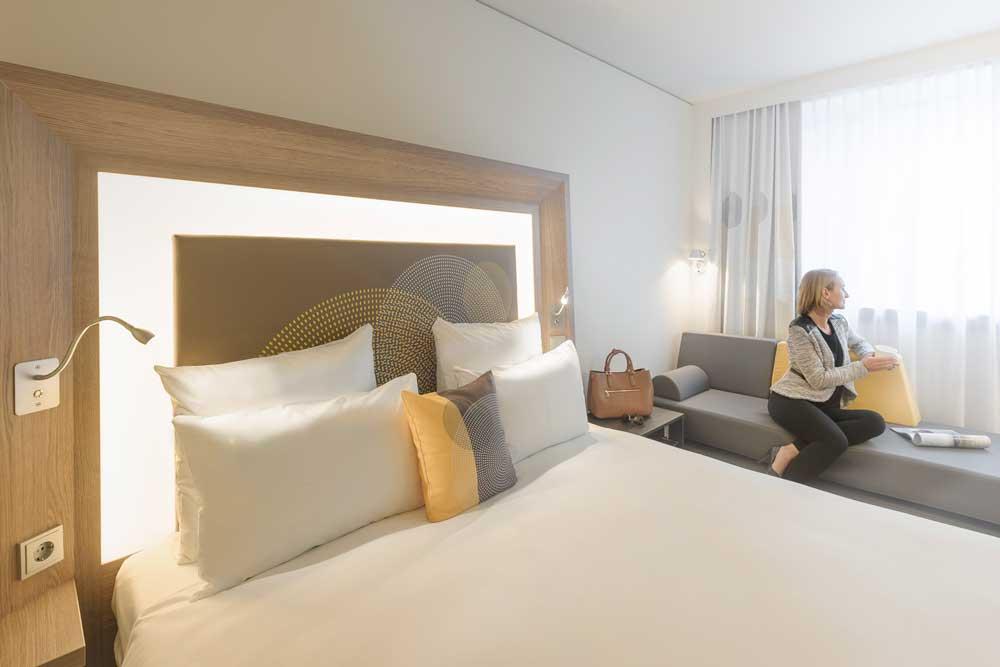 Zimmer im Business-Hotel von Accor