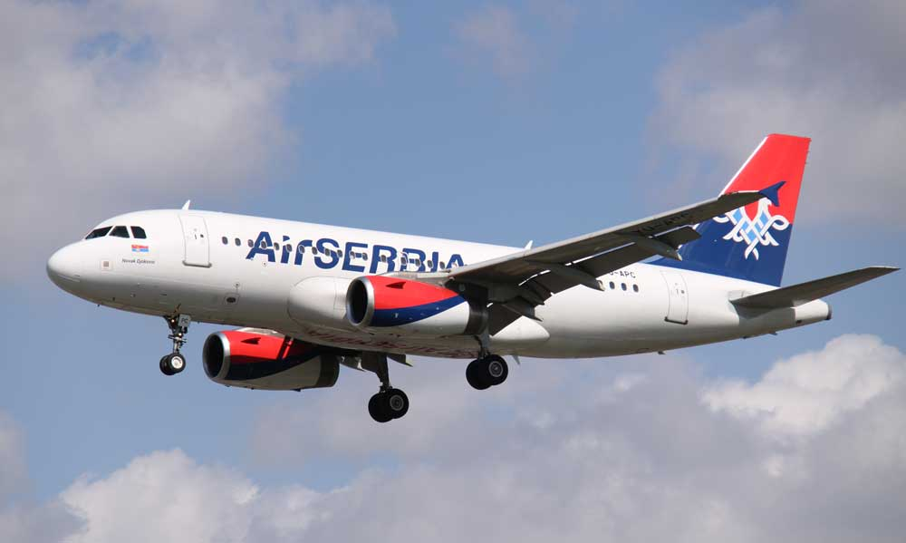Air Serbia stellt ab Ende Oktober ihre Flüge mit dem Airbus A319 nach Abu Dhabi, dem Sitz ihres Partners Etihad, mangels Nachfrage ein