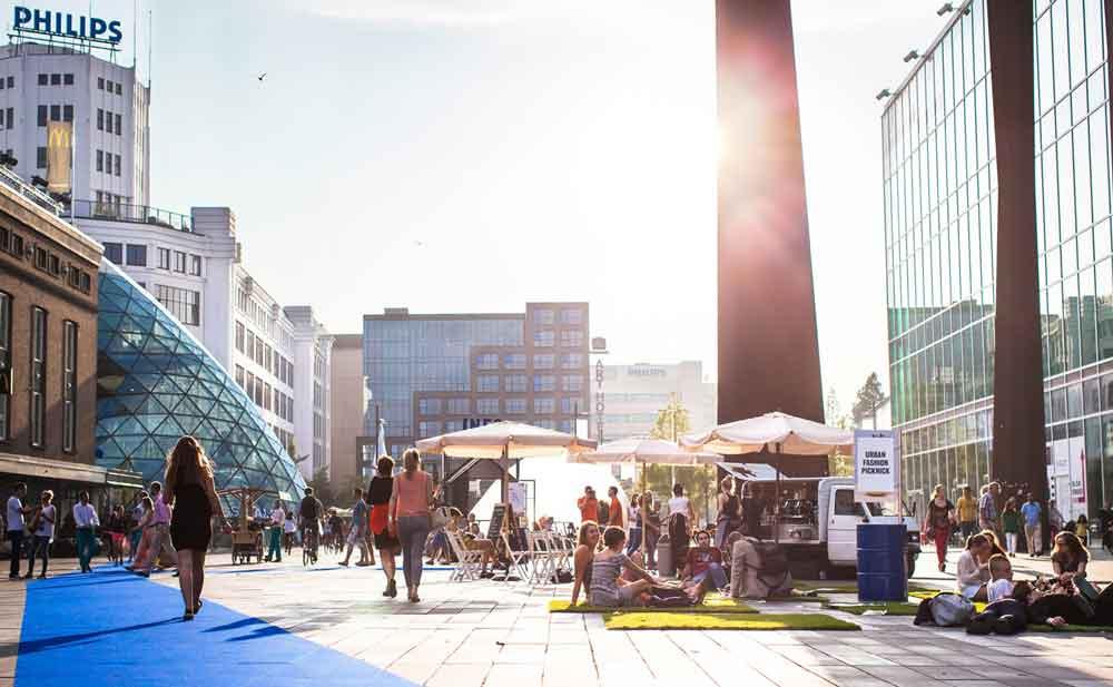 Eindhoven ist der wichtigste Produktions- und Forschungsstandort der Firma Philips