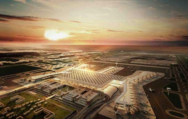 In 2018 ist es soweit! Dann wird das Megaprojekt Istanbul New Airport eröffnet