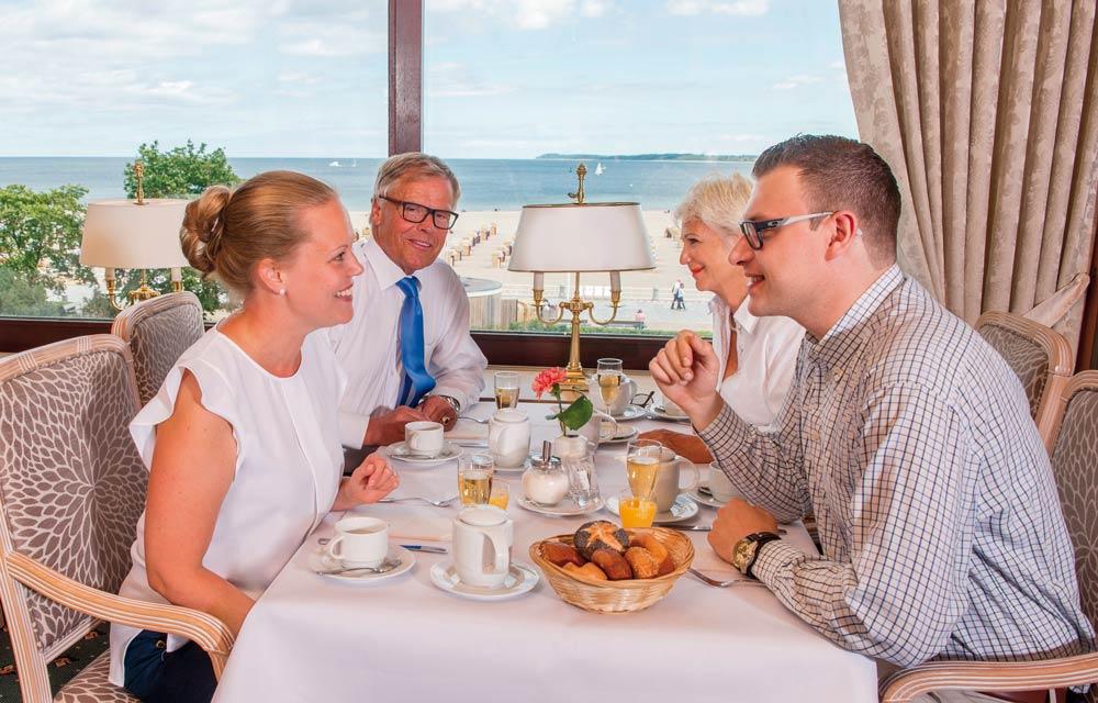 Gehört zu den Top-Hotels für Kurzurlauber in Deutschland: Maritim Strandhotel Travemünde