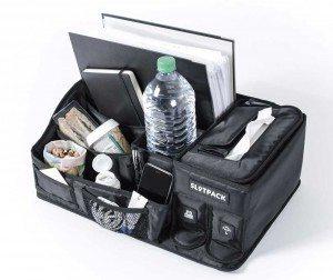 Slotpack: Alles, was während der Autofahrt benötigt wird, passt rein