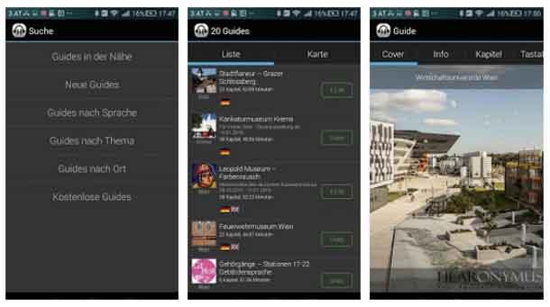 Mit der Hearonymus-App wird die Reise auf der Westbahnstrecken zum Vergnügen: Unterhaltung und Informationen links und rechts der Strecke können in Deutsch und Englisch abgerufen werden