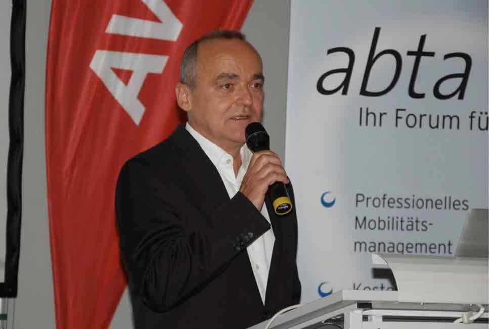 abta-Präsident Hanno Kirsch auf der Tagung 2017 im Loisium in Langenlois